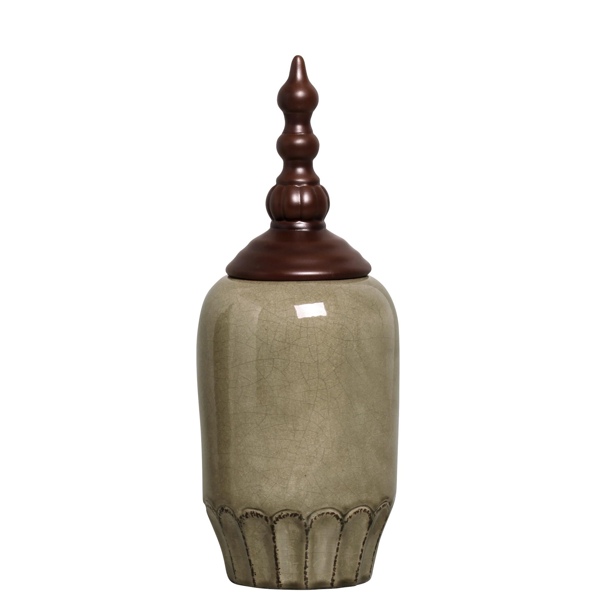 Potiche Decorativo Pote Luna II 395 cm 97630 - Buzzio s