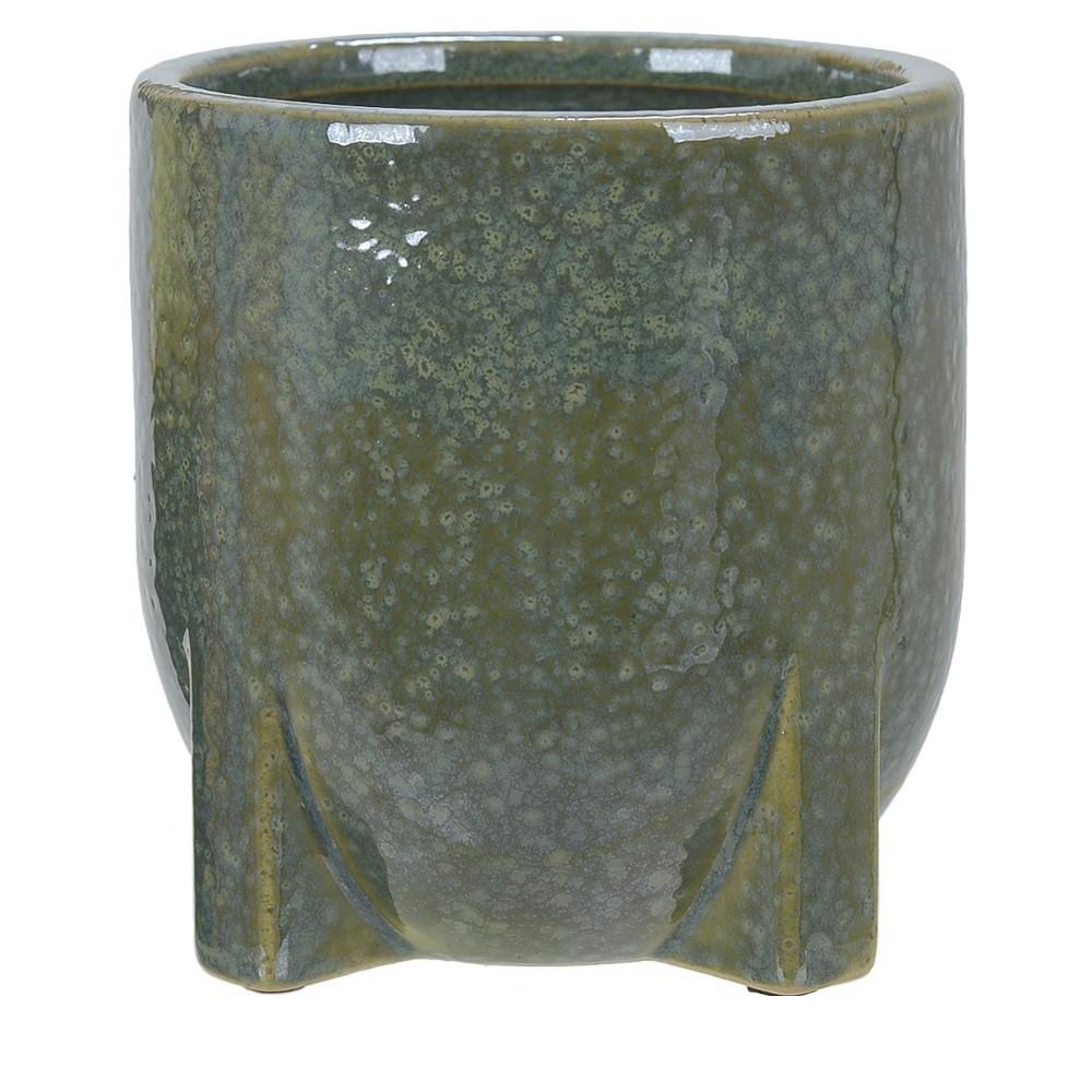 Vaso Decorativo em Ceramica Redondo 12 cm 5002 - Dea