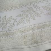 Toalha de Banho Prata 100% Algodão 70 x 135 cm Bege - Santista