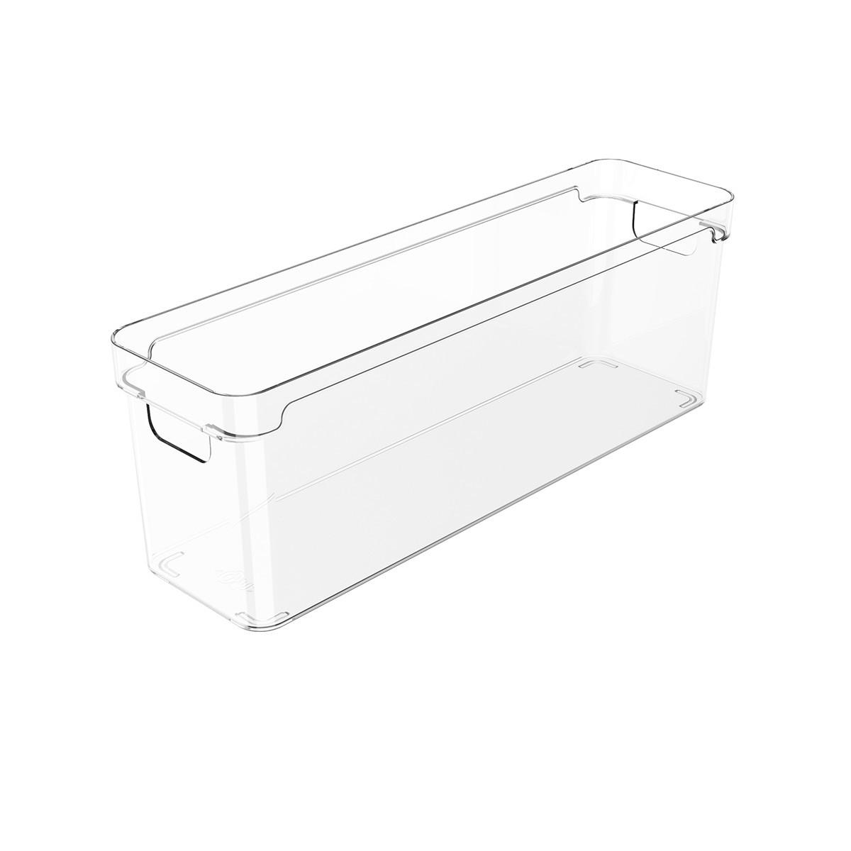 Organizador Clear 37x10x13 cm Transparente - Ou