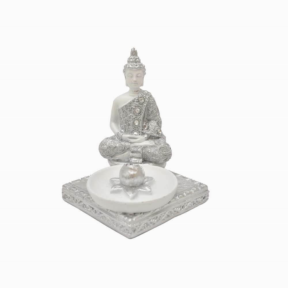 Enfeite Decorativo Buda Incenso - Bras Continental