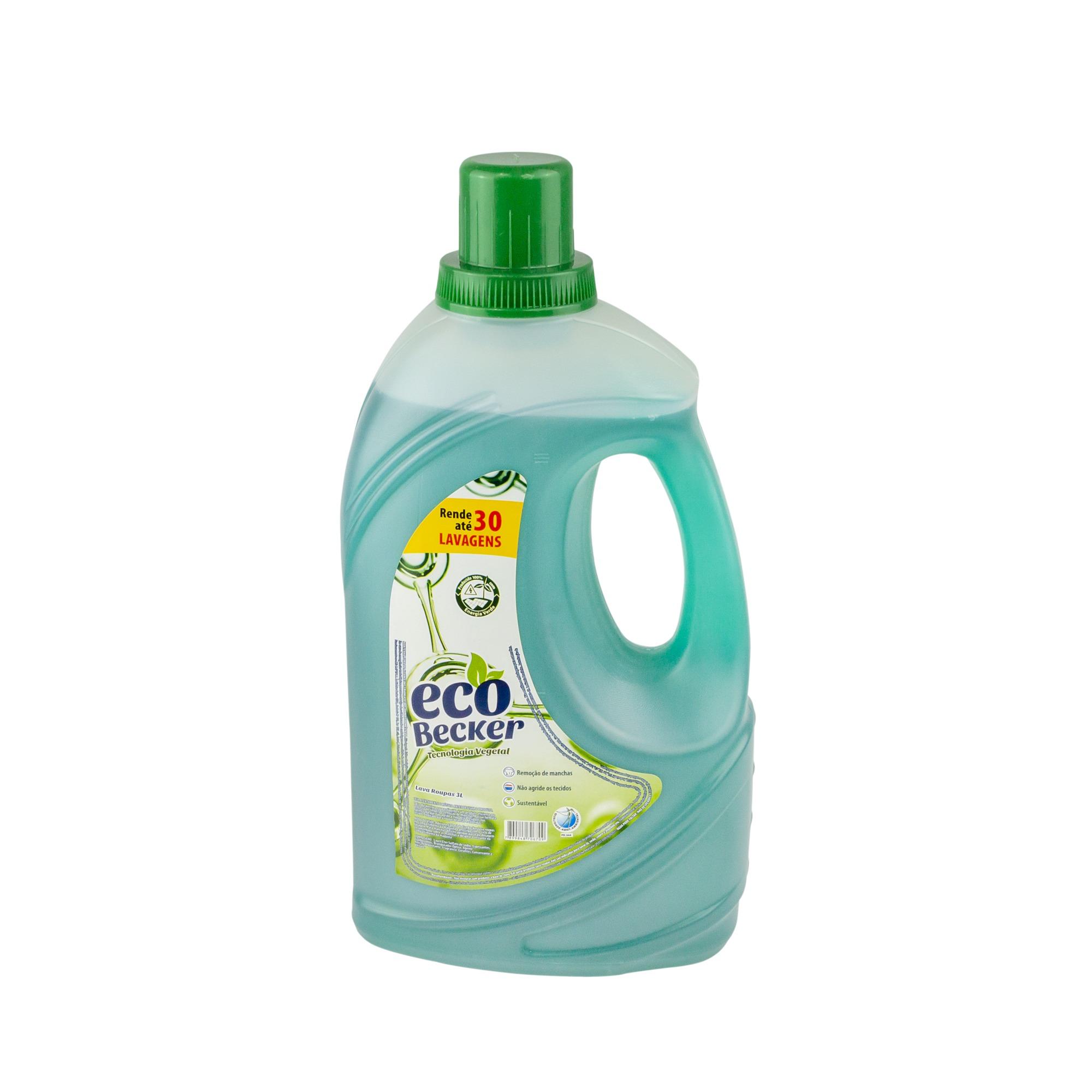 Sabao Liquido para Roupas Eco Becker 3L - Becker