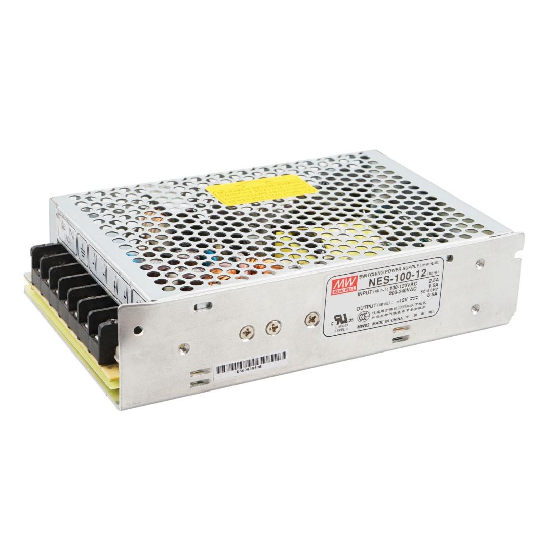 Driver para Fita LED 100W 12V 833A IP20 - Luminatti
