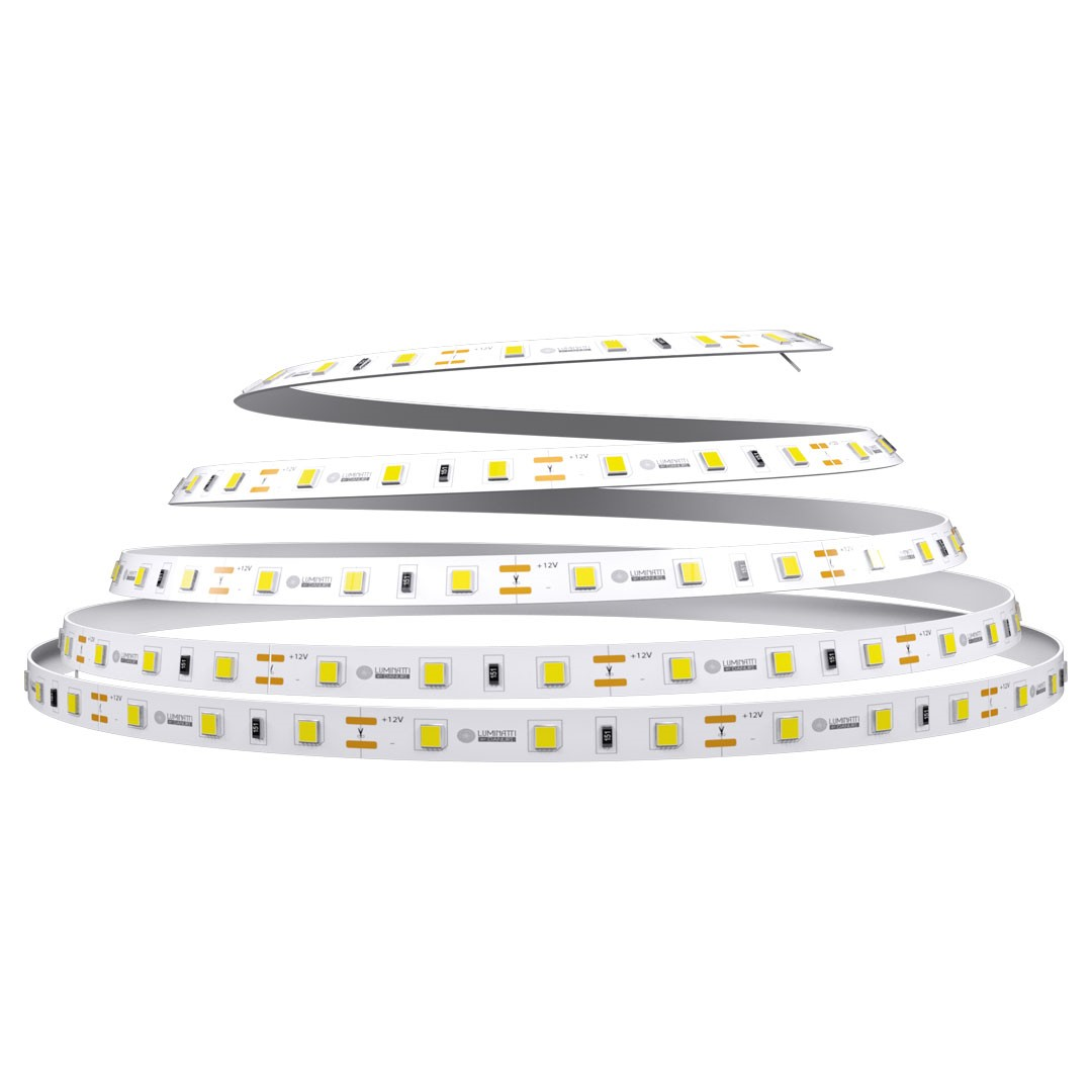 Fita LED 5m IP20 5W 12V Luz Neutra - Luminatti