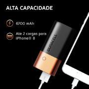 Carregador Portátil/Power Bank Duracell 6700mAH