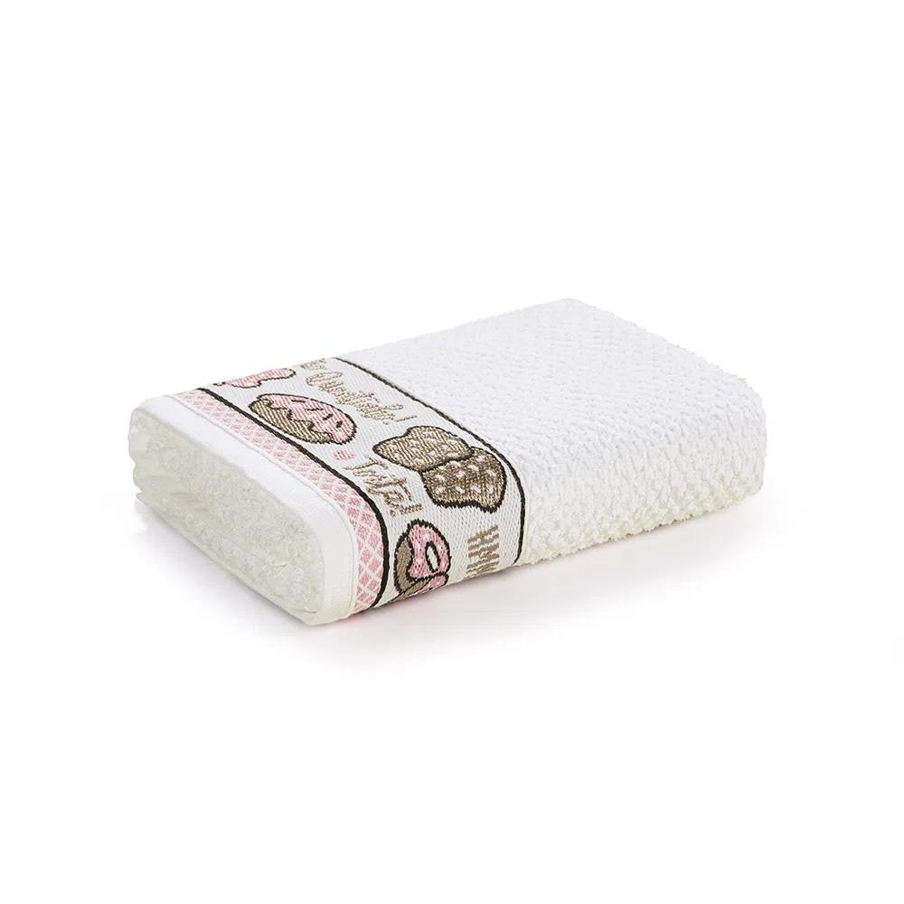Pano de Copa Branco Confeitaria 45x65 cm - Karsten