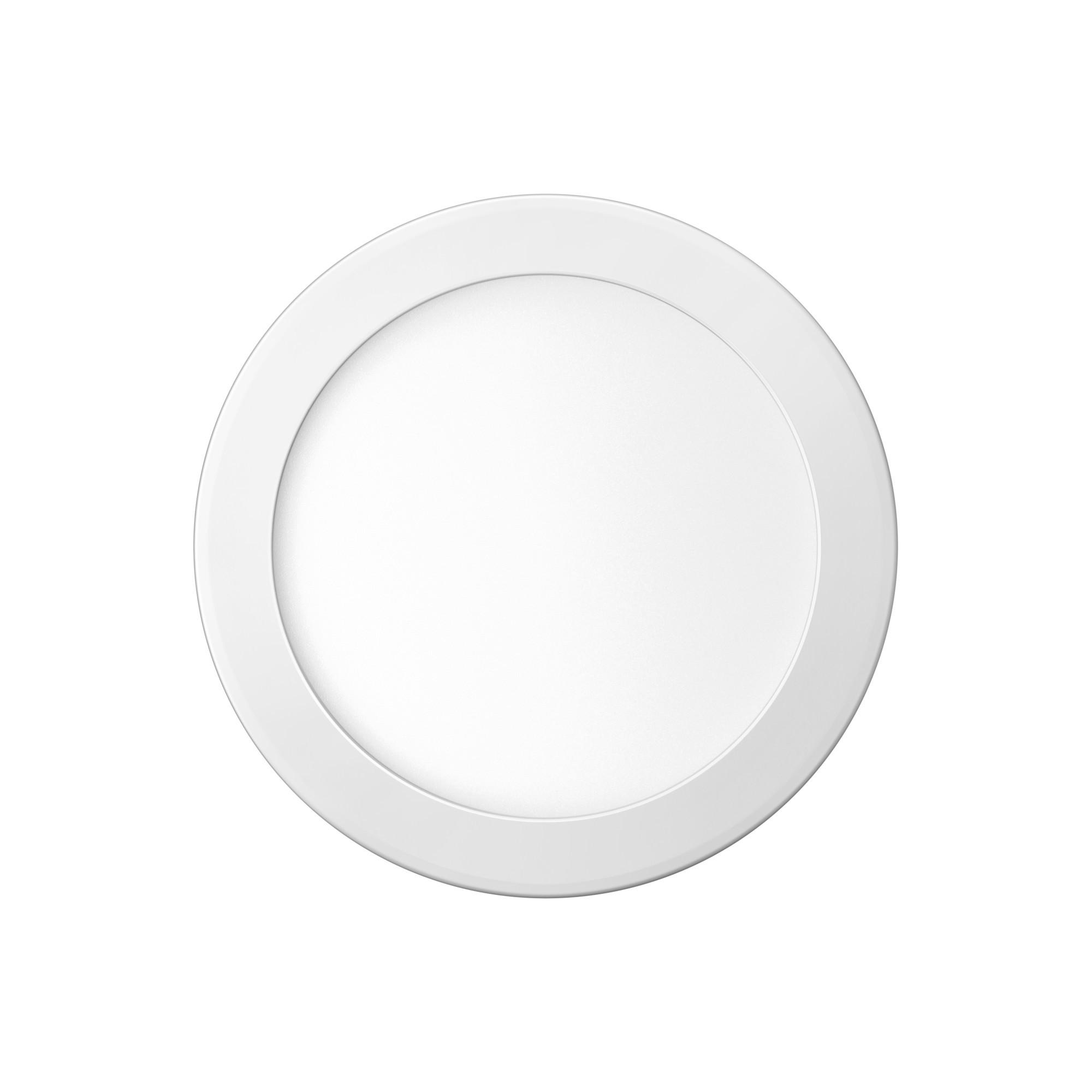 Painel LED Embutir 24W Redondo Luz Branca - Elgin