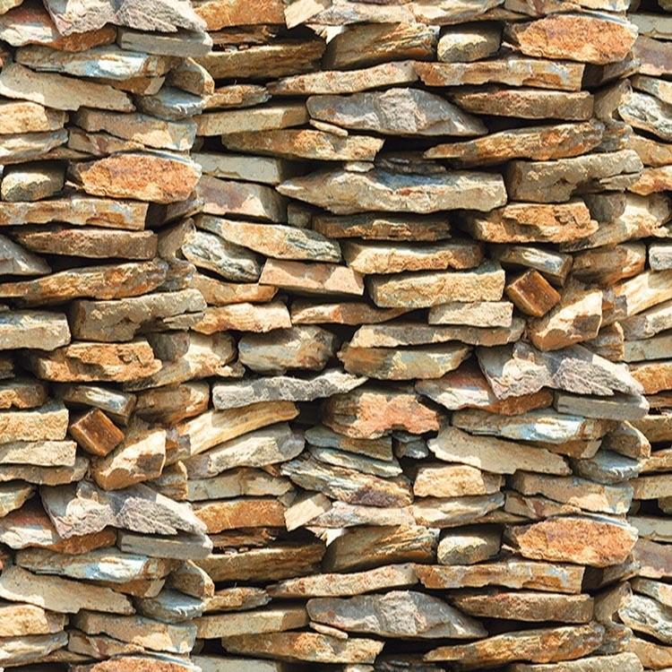 Adesivo Decorativo Rolo 2m x 45cm Pedra Nature 45m - Plavitec