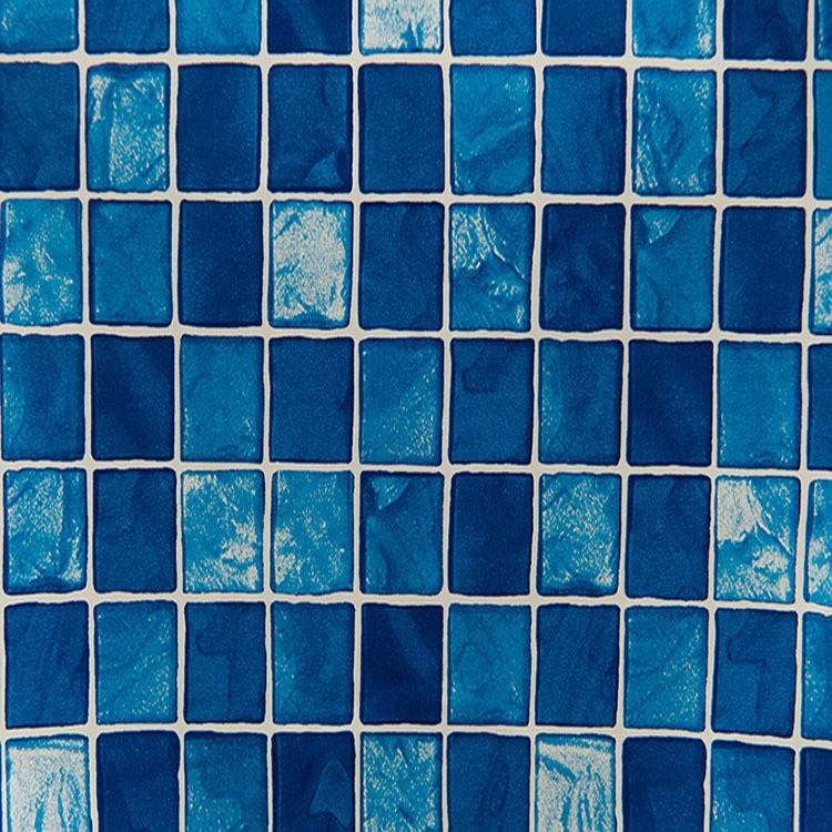 Adesivo Decorativo Rolo 2m x 45cm Pastilha Azul 45m - Plavitec