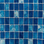 Adesivo Decorativo Rolo 2m x 45cm Pastilha Azul 4,5m² - Plavitec