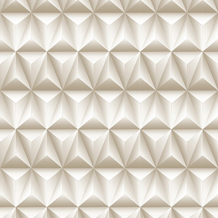 Adesivo Decorativo Rolo 2m x 45cm Geometrico 3D 45m - Plavitec