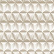 Adesivo Decorativo Rolo 2m x 45cm Geométrico 3D 4,5m² - Plavitec