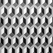 Adesivo Decorativo Rolo 2m x 45cm Geométrico 4,5m² - Plavitec