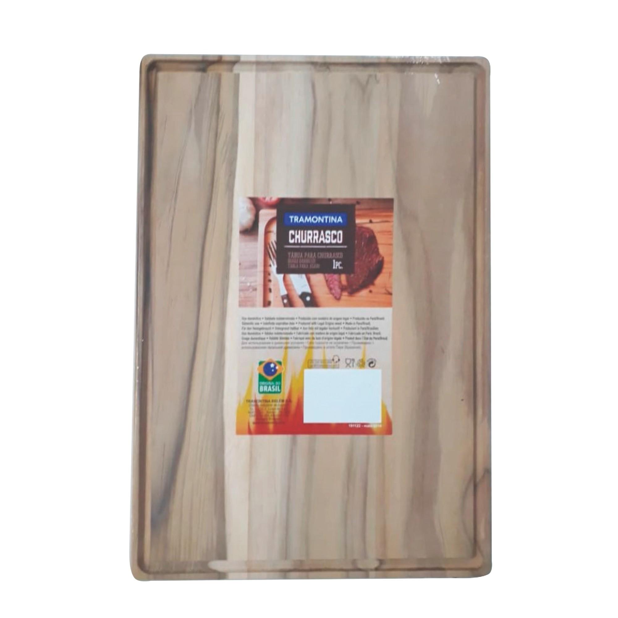 Tabua Tramontina para Corte 40x28 cm de Madeira