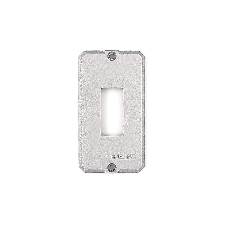 Placa de Aluminio para Caixa Eletrica 34 - 1 Posto - 56115002 - Tramontina