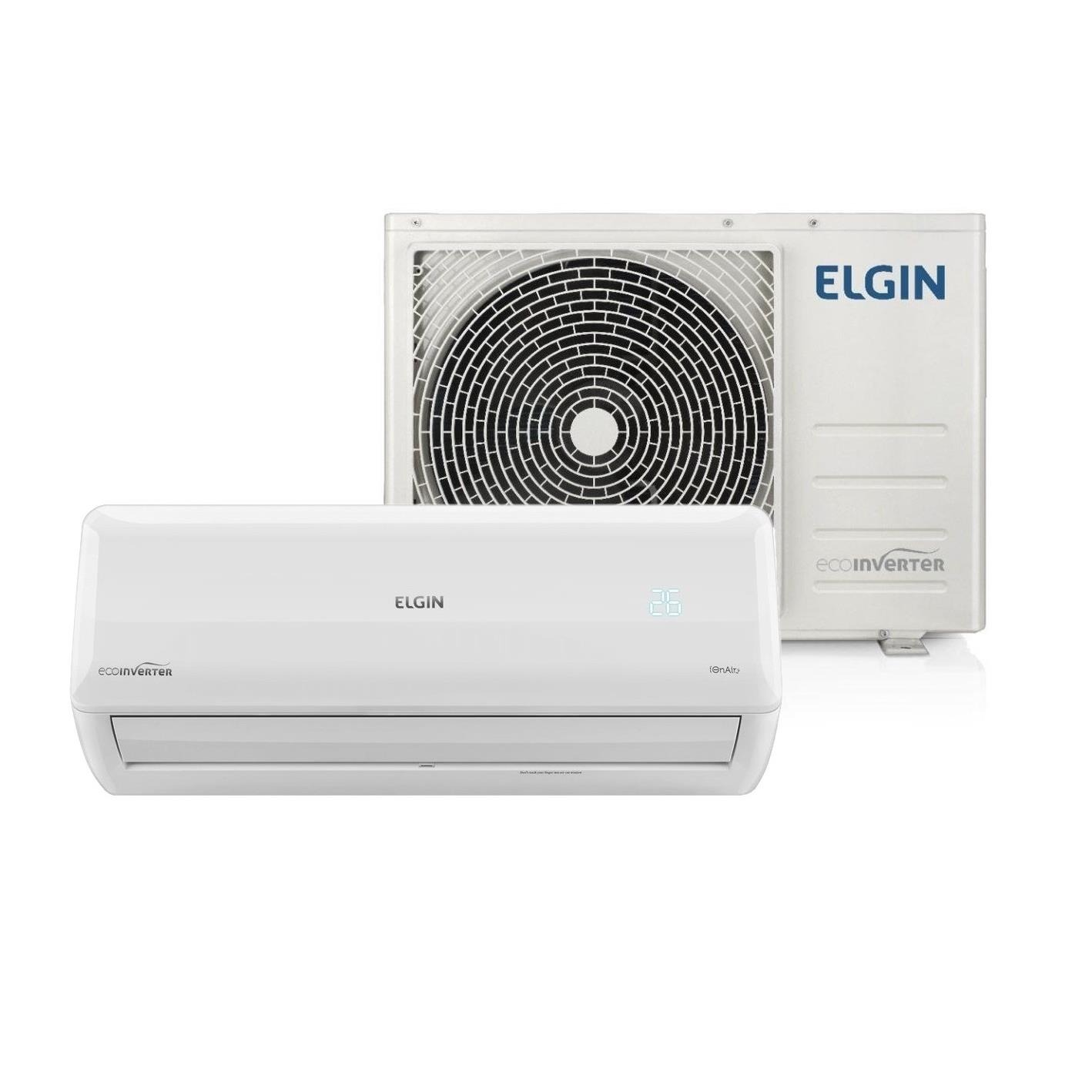 Ar Condicionado Split Inverter Eco Elgin 9000 BTUs 220V - So frio - 45HVFI09B2IA
