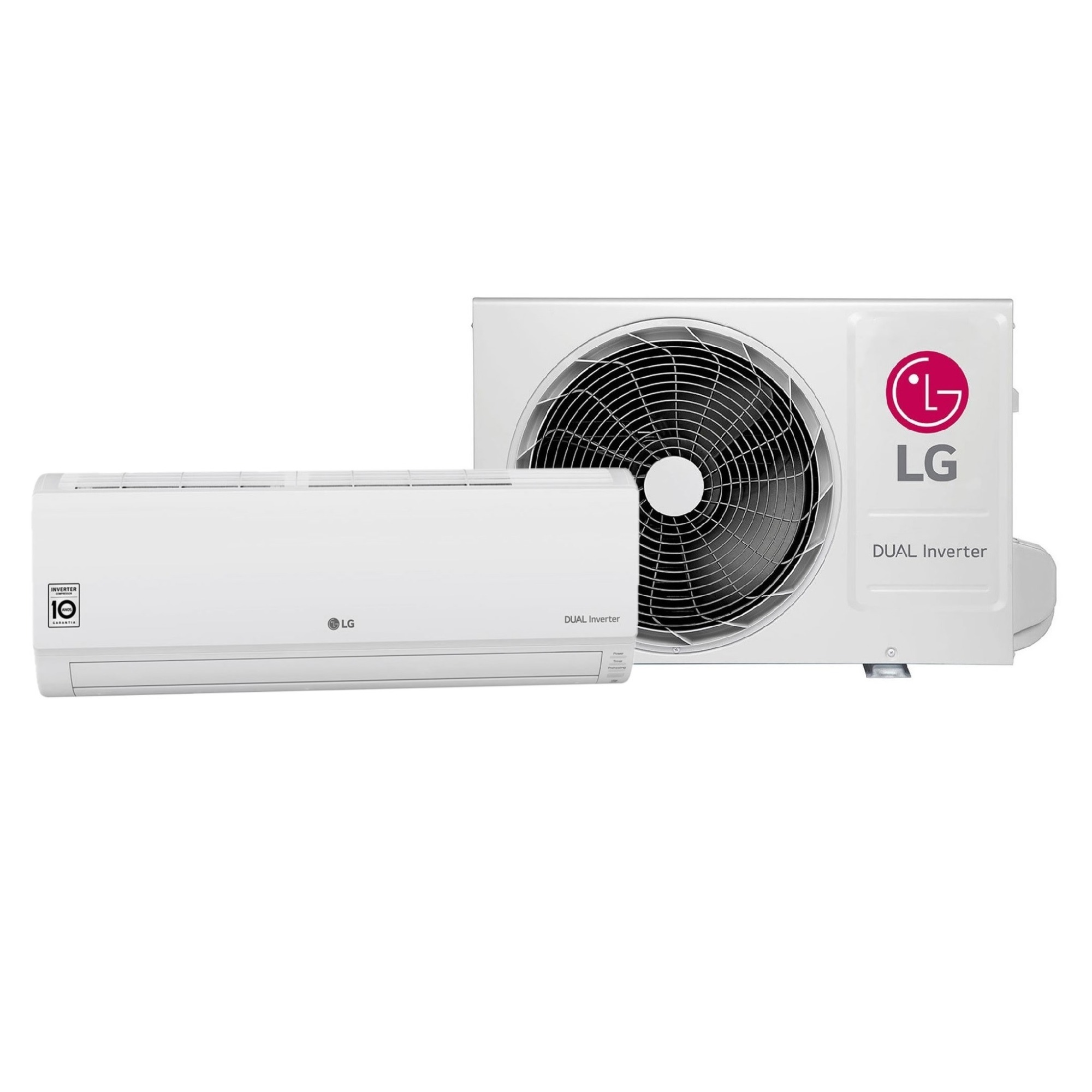 Ar Condicionado Split Dual Inverter LG 9000 BTUs 220V - Frio - S4NQ09WA5AA