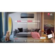 Ar Condicionado Split LG Dual Inverter Voice Artcool 12.000 BTUs 220V - Quente e frio - S4NW12JARPA.EB2GAMZ