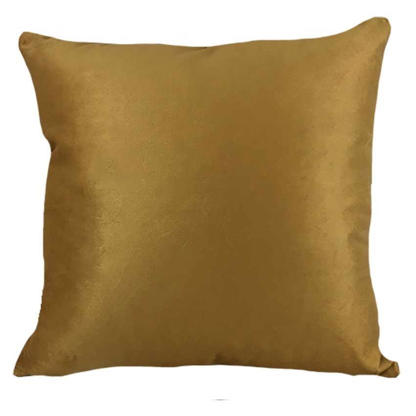 Almofada 52x52 cm Soft Liso Dourado - Decortextil