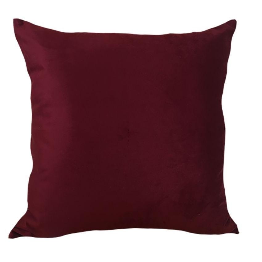 Almofada 52x52 cm Soft Liso Marsala - Decortextil