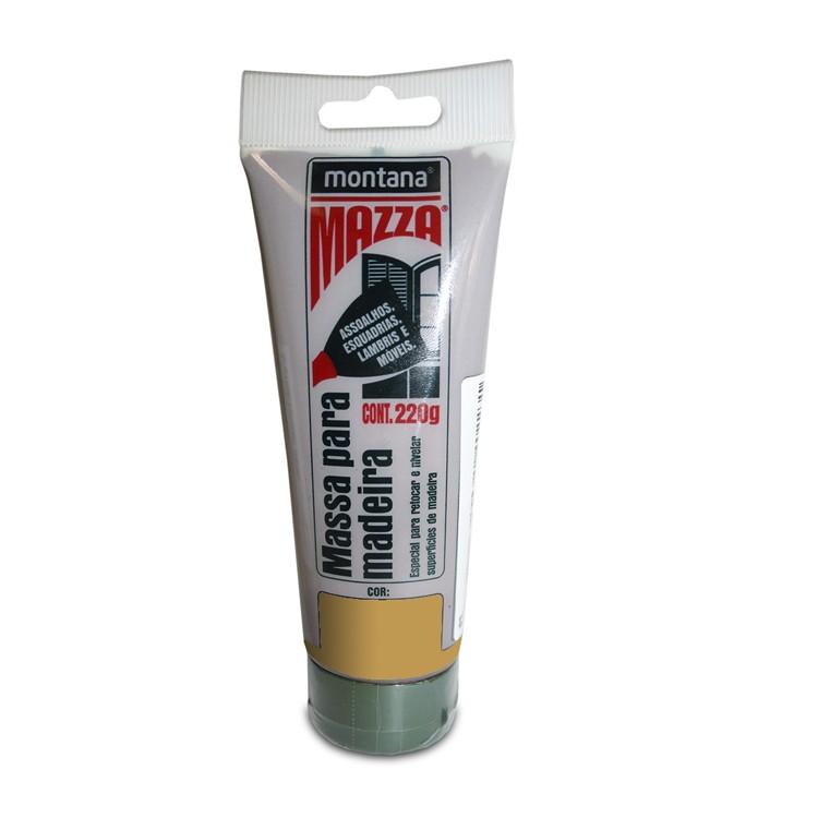 Massa Para Madeira Mazza - Cerejeira - Bisnaga 0220Kg - Montana
