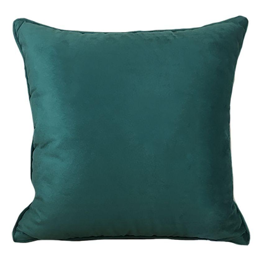 Almofada 52x52 cm Soft Liso Verde 232-20 - Decortextil