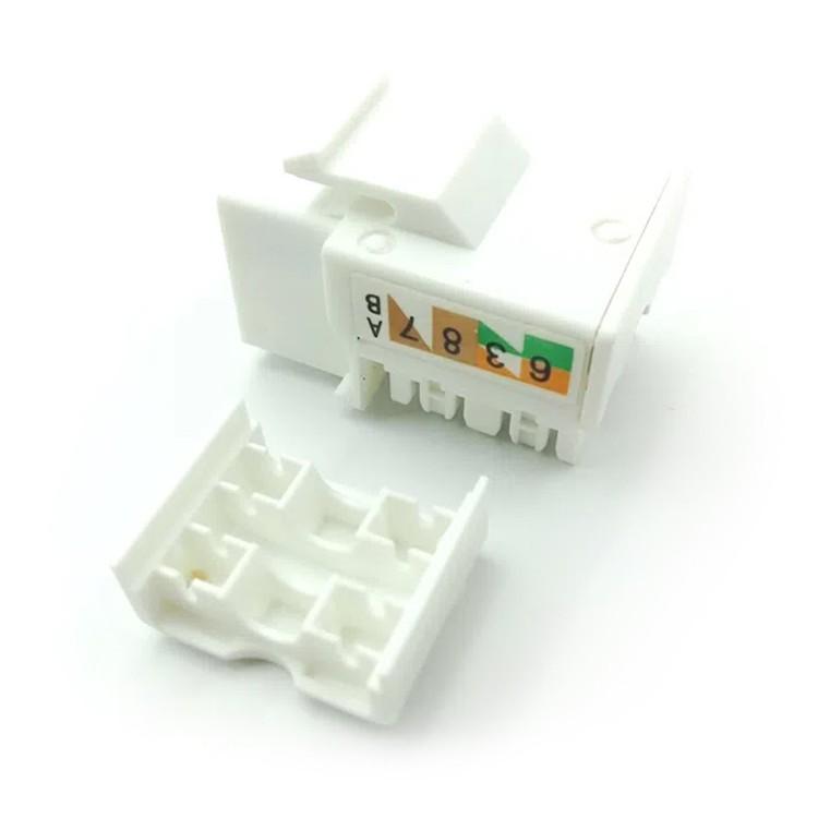 Plug de Rede Modular RJ45 Femea CAT6 - 216 - Mavel