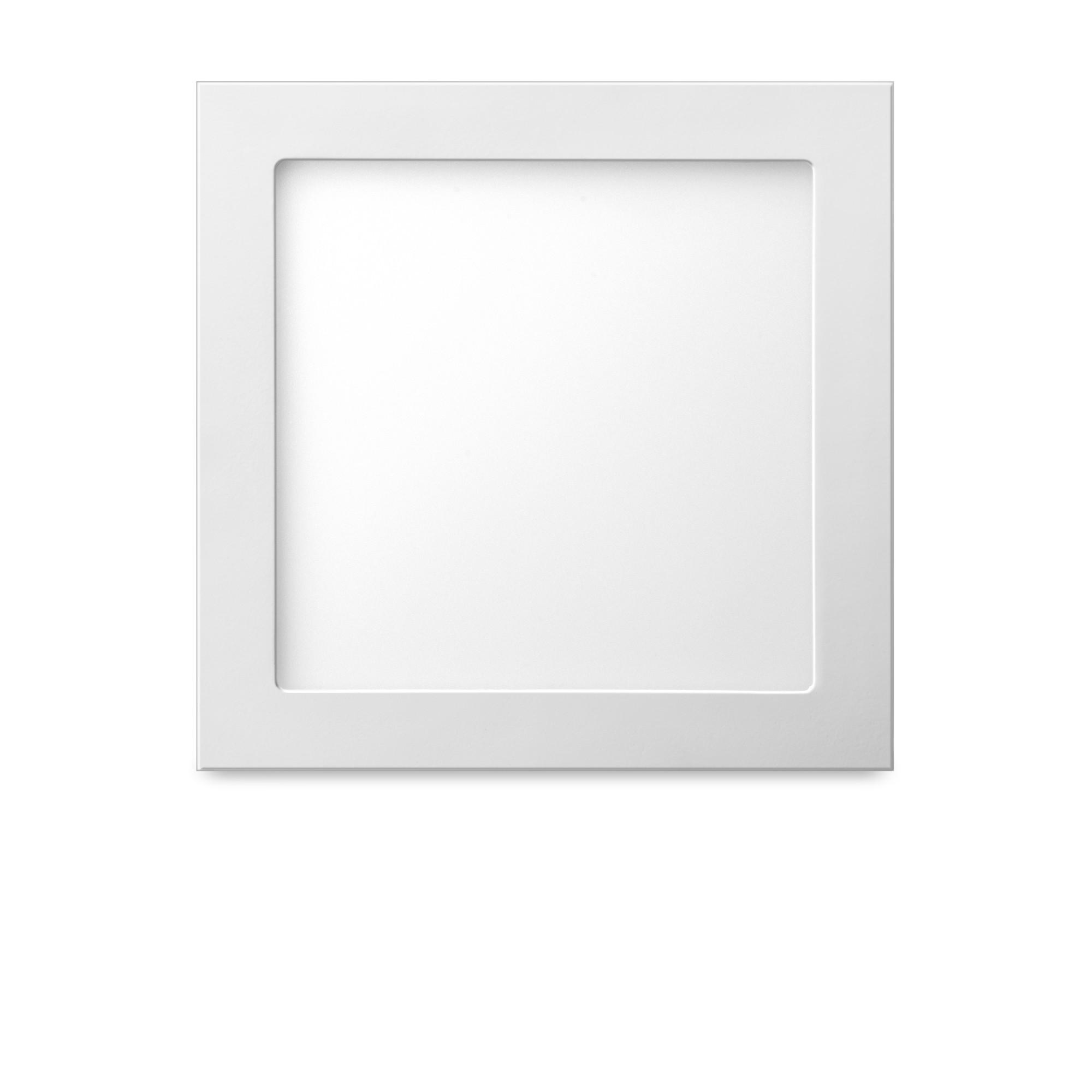 Luminaria LED de Embutir 26x26 cm 18W Luz Amarela - Elgin