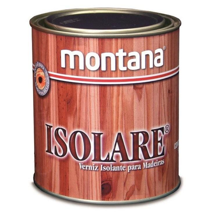 Verniz Isolare Acetinado - Incolor - 0900L - Montana