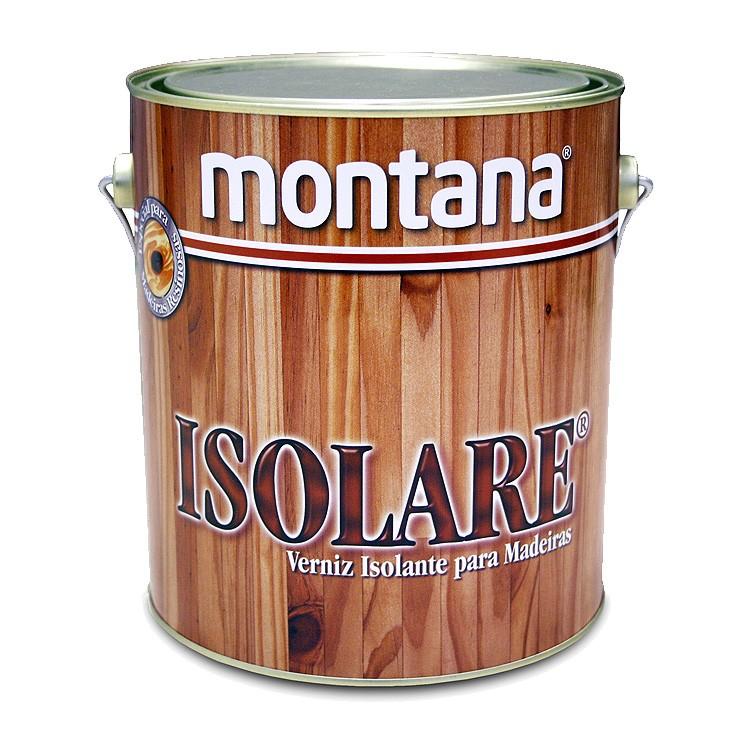 Verniz Isolare Acetinado - Incolor - 3600L - Montana