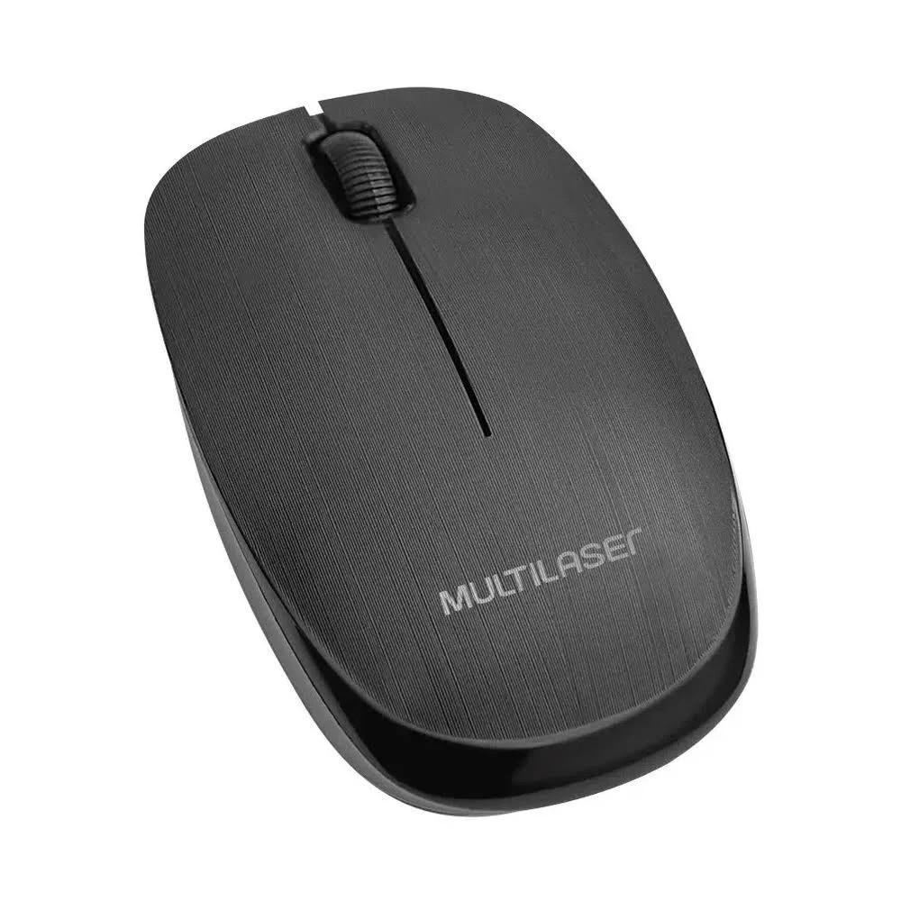 Mouse USB Classic Optico Sem Fio MO251 - Multilaser