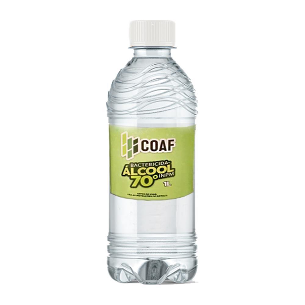 Alcool Liquido Etilico 70 1 Litro - Coaf