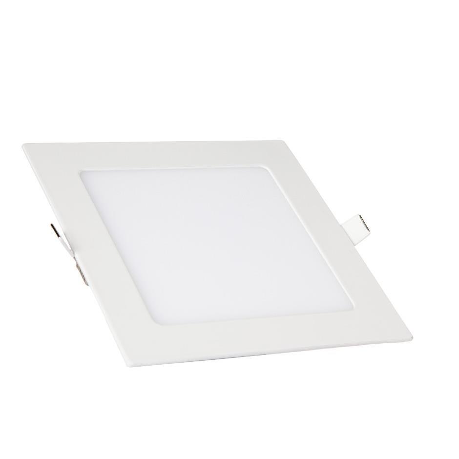Painel LED Slim 18W Quadrado Luz Branca - Kian