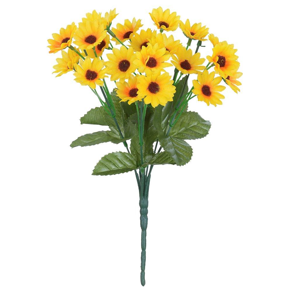 Buque Artificial de Flor Girassol de Tecido 31cm - Dea