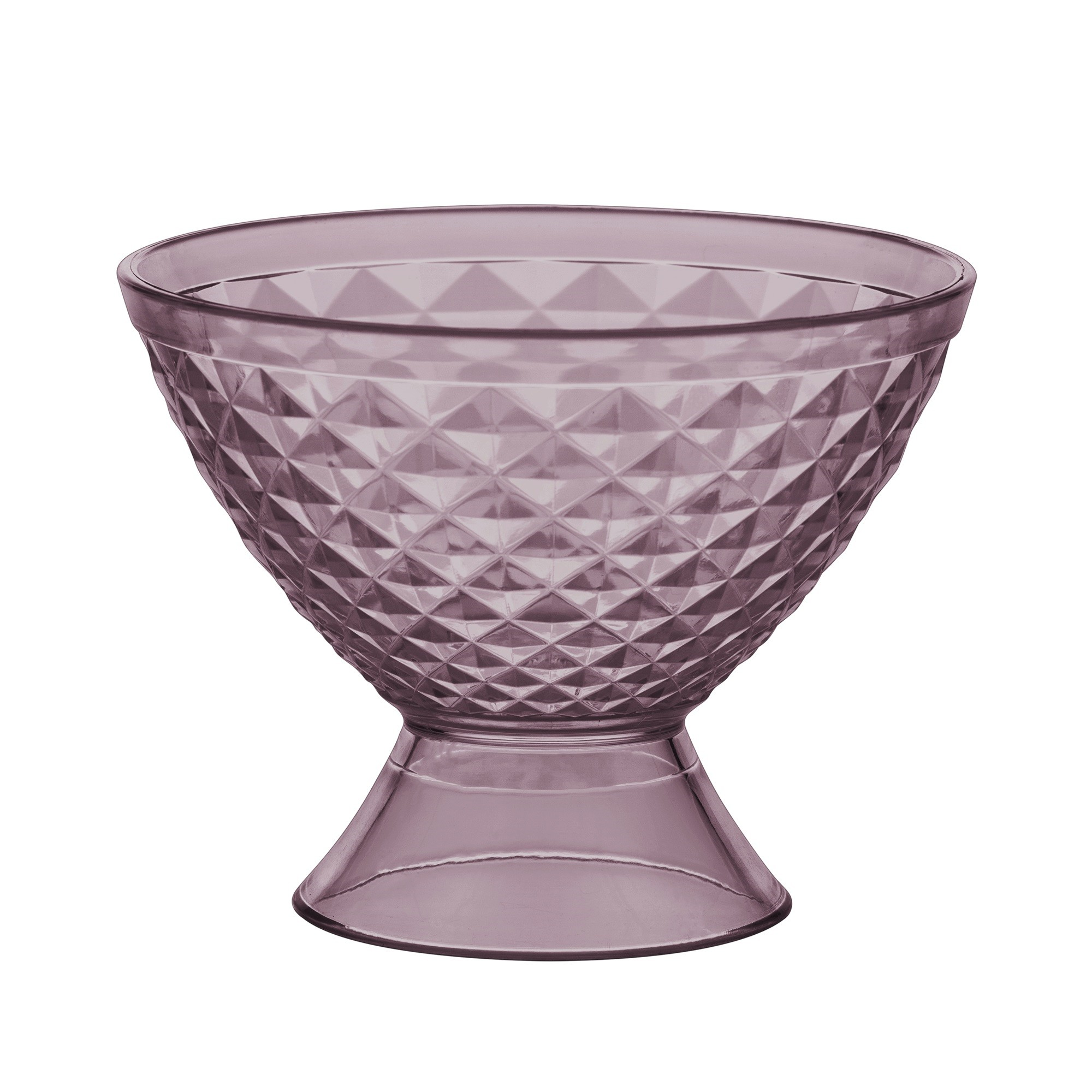 Taca Luxxor para Sobremesa de Acrilico 400ml Violeta - Paramount