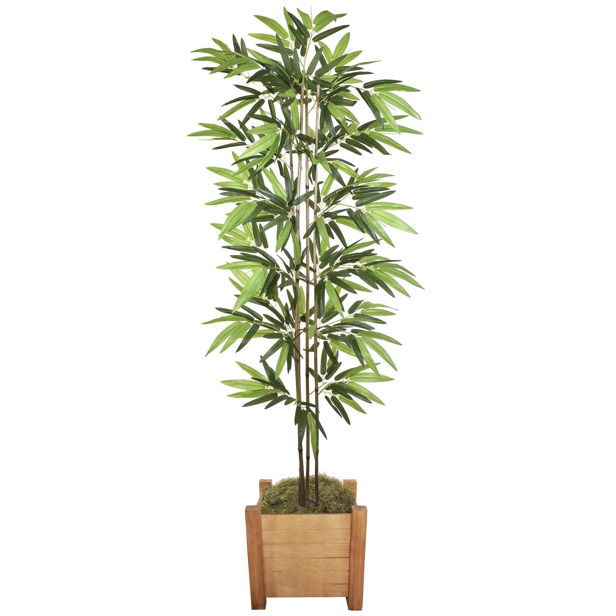 Planta Bambu Decorativa Verde 70 cm 49736