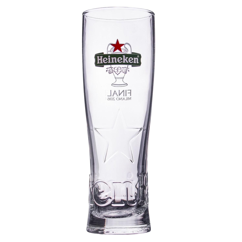 Copo Chopp Heineken de Vidro 250ml Transparente - 1100709 - Mypa