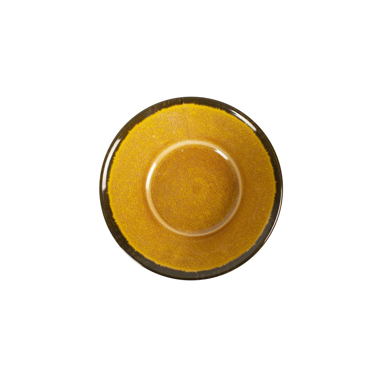 Tigela de Melamina 17 cm Laranja - Mypa