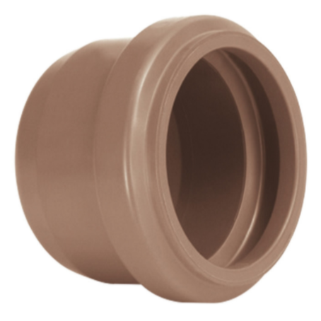 Cap PVC Marrom 50 mm - Amanco