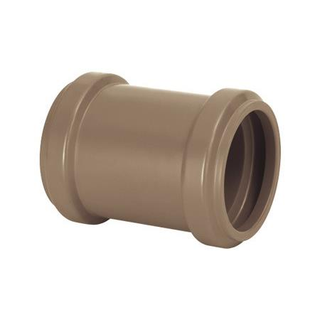 Luva de Correr PVC Marrom 50 mm - Amanco