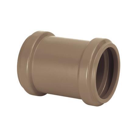 Luva de Correr Soldavel PVC Marrom 100 mm - Amanco