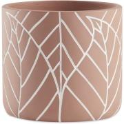 Vaso Decorativo de Poliresina Redondo 10 cm - Mart