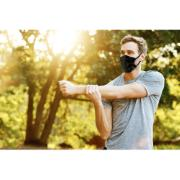 Máscara de Tecido Reutilizável para Uso Diário Tamanho Único Preta - 3M