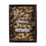 Quadro Decorativo 25x35 cm Porta-Rolha Luxo 790/1 - Art Frame