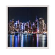 Quadro Decorativo 50x50 cm Trio com Vidro Luxo 252/3/2 - Art Frame