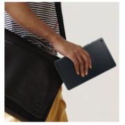"Tablet Samsung Preto 8"" Android 9.0 Quad-core 32B - T290"
