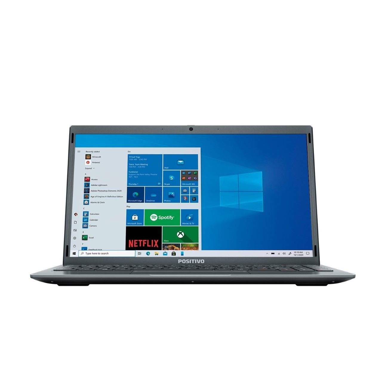 Notebook Positivo 4GB 64GB LED HD 14 Windows 10