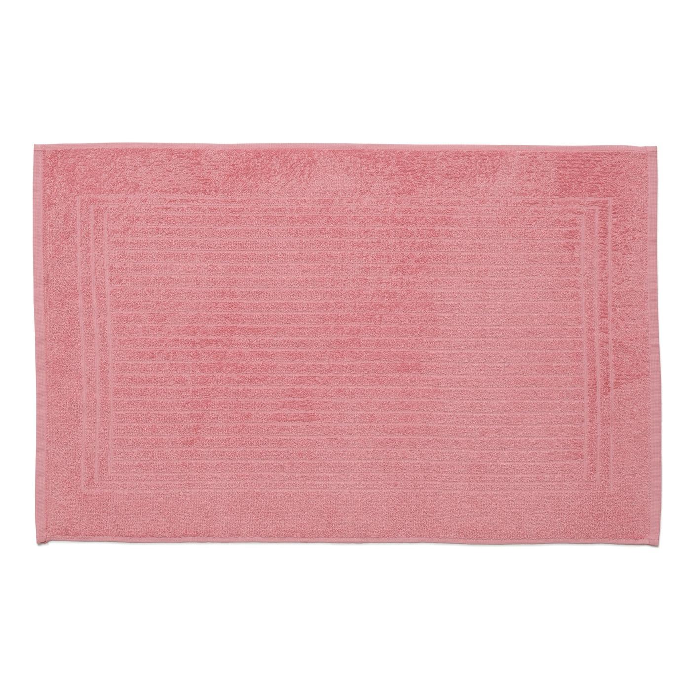 Toalha de Piso Cedro Rosa 45x70 cm 100 Algodao - Santista