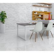 Cerâmica Tipo A 58X58 cm Bold Marmorizado Plus 2,68m² Calacatta - Incenor