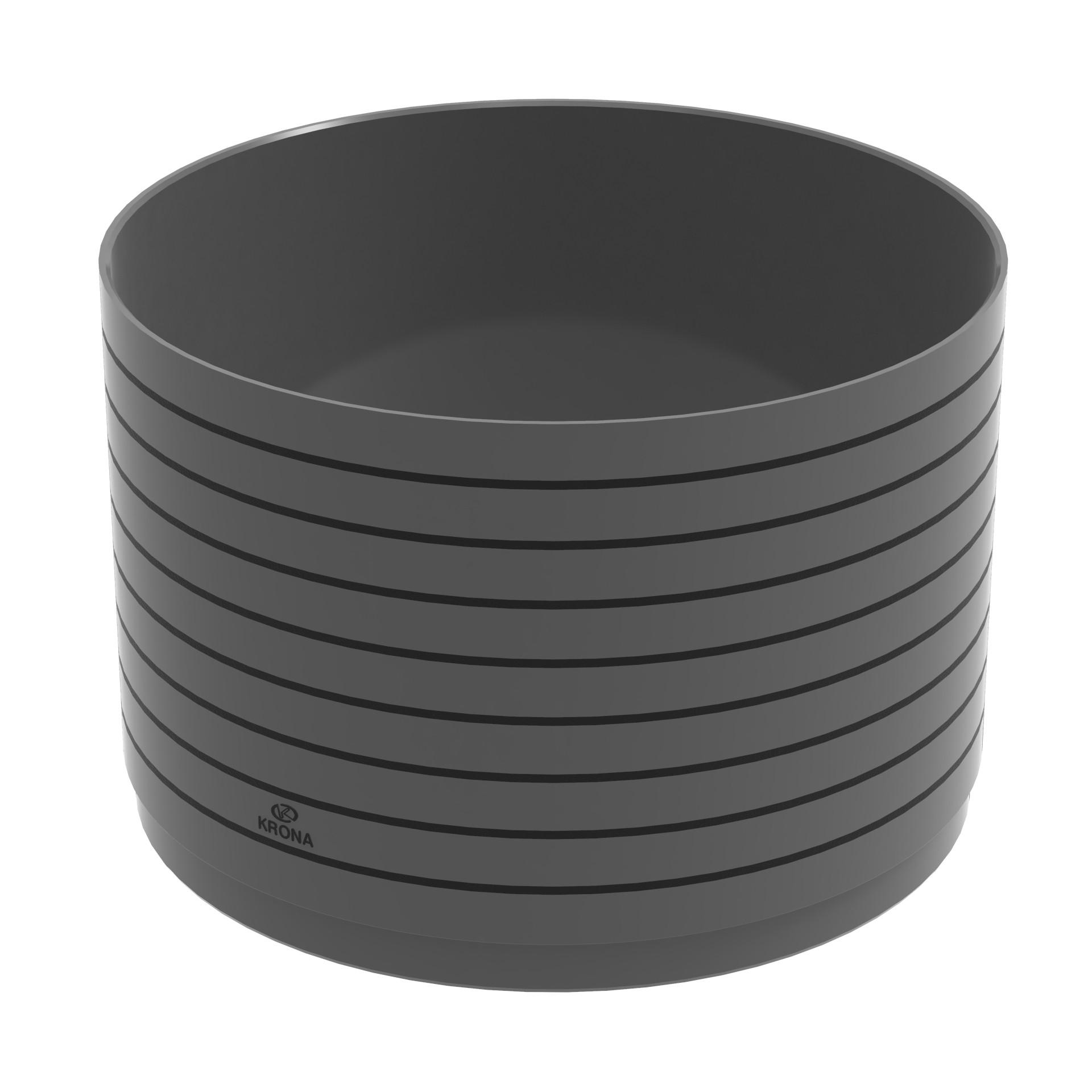 Prolongador de PVC para Caixa de Esgoto Cilindrico - Krona